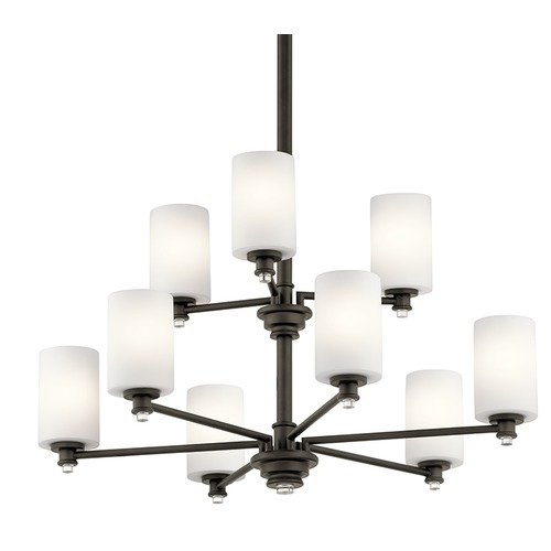 Kichler Lighting Kichler Lighting Joelson Olde Bronze LED Chandelier 43924OZL16