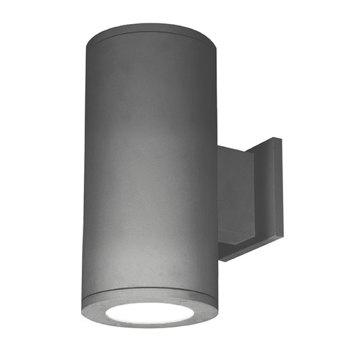WAC Lighting 5-Inch Graphite LED Tube Architectural Up and Down Wall Light 3500K 4510LM DS-WD05-N35S-GH