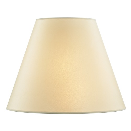 Design Classics Lighting Golden Parchment Empire Paper Lamp Shade with Spider Assembly SH9723