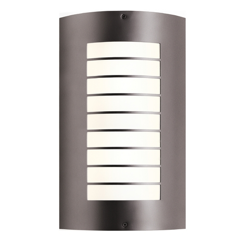 Kichler Lighting Kichler Lighting Newport Architectural Bronze Outdoor Wall Light 6048AZ