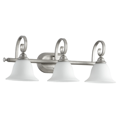 Quorum Lighting Quorum Lighting Celesta Classic Nickel Bathroom Light 5053-3-64