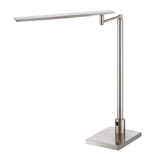 Lite Source Lighting Lite Source Monico Polished Steel LED Swing Arm Lamp LS-22252PS