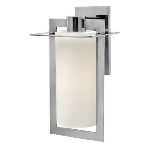 Hinkley Lighting Hinkley Lighting Colfax Polished Stainless Steel Outdoor Wall Light 2925PS-GU24