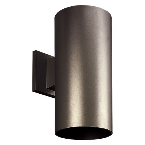 Progress Lighting Progress Lighting Cylinder Antique Bronze LED Outdoor Wall Light P5641-20/30K