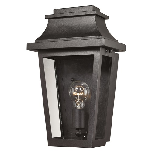 Elk Lighting Elk Lighting Covina Matte Black Outdoor Wall Light 46190/1
