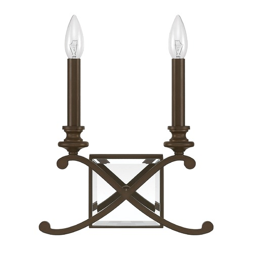 Capital Lighting Capital Lighting Alexander Burnished Bronze Sconce 8062BB