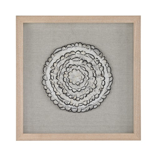 Dimond Home Feather Swirl Wall D cor 168-012