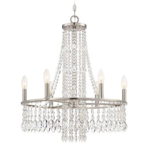 Quoizel Lighting Quoizel Lighting Majestic Brushed Nickel Chandelier MJT5006BN
