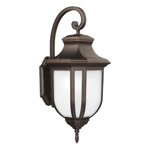 Sea Gull Lighting Sea Gull Lighting Childress Antique Bronze Outdoor Wall Light 8636301-71
