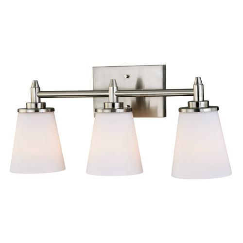 eastland satin nickel bathroom light by vaxcel lighting w021