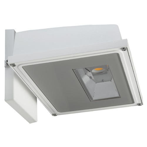 Nuvo Lighting Nuvo White LED Wall Pack 4000K 1688LM 120-277v 15W 65/158