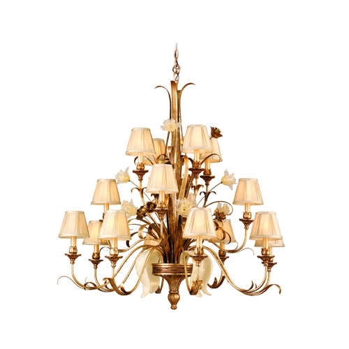 Corbett Lighting Corbett Lighting Tivoli Silver Chandelier 49-016