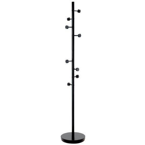 Adesso Home Lighting Contemporary Coat Stand with Eight Hooks WK2030-01