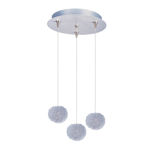 ET2 Lighting Modern Low Voltage Multi-Light Pendant Light 3-Lights E94620-AL