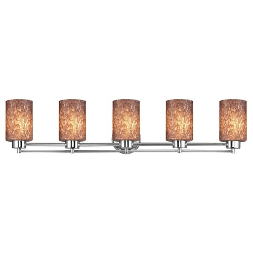 Design Classics Lighting Design Classics Salida Fuse Chrome Bathroom Light 706-26 GL1016C