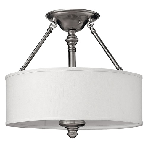 Hinkley Lighting Semi-Flushmount Lights in Brushed Nickel Finish 4791BN
