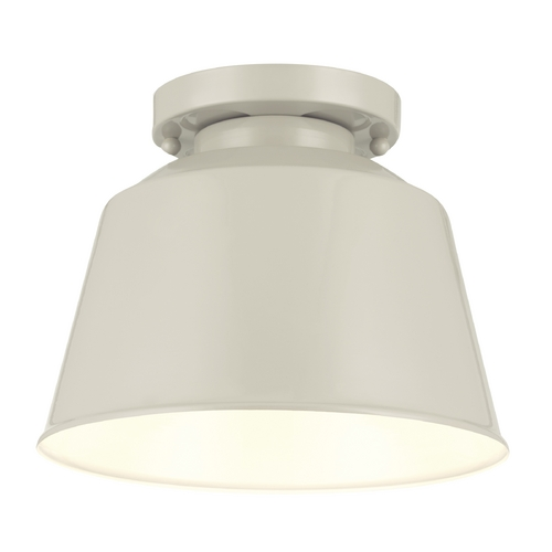 Feiss Lighting Feiss Lighting Freemont Hi Gloss Grey Close To Ceiling Light OL15013HGG