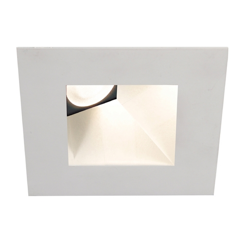 WAC Lighting Wac Lighting White LED Recessed Trim HR-3LED-T518N-W-WT