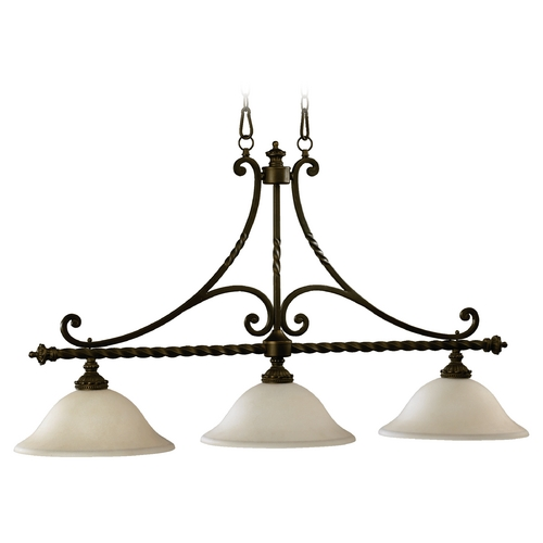 Quorum Lighting Quorum Lighting Alameda Oiled Bronze Island Light 6586-3-86