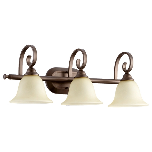 Quorum Lighting Quorum Lighting Celesta Oiled Bronze Bathroom Light 5053-3-86