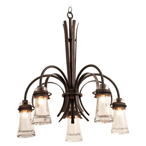 Kalco Lighting Kalco Lighting Dover Antique Copper Chandelier 2915AC