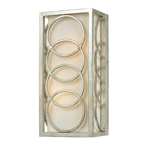 Crystorama Lighting Crystorama Lighting Graham Antique Silver Sconce 281-SA