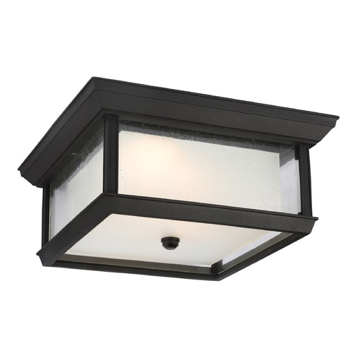 Feiss Lighting Feiss Lighting Mchenry Textured Black LED Close To Ceiling Light OL12813TXB-LED