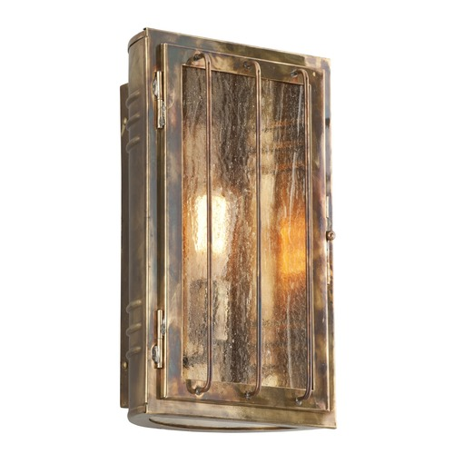 Troy Lighting Troy Lighting Joplin Historic Brass Outdoor Wall Light BF4682HBZ