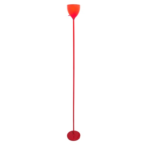 Lite Source Lighting Lite Source Red Torchiere Lamp with Bowl / Dome Shade LS-82838RED