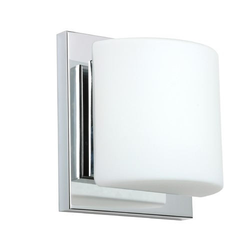 Besa Lighting Besa Lighting Paolo Chrome LED Sconce 1WS-787307-LED-CR