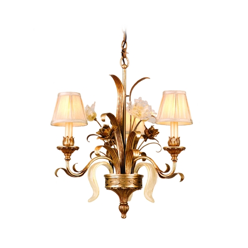 Corbett Lighting Corbett Lighting Tivoli Silver Chandelier 49-03