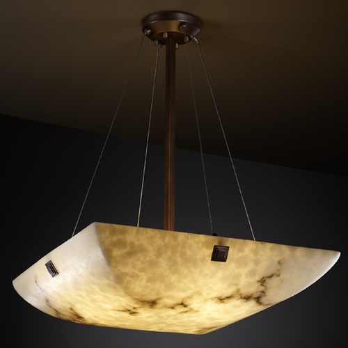 Justice Design Group Justice Design Group Lumenaria Collection Pendant Light FAL-9667-25-DBRZ-F5