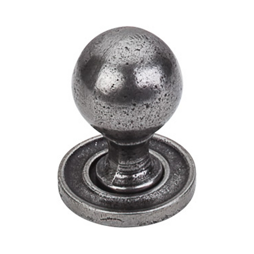 Top Knobs Hardware Cabinet Knob in Cast Iron Finish M50
