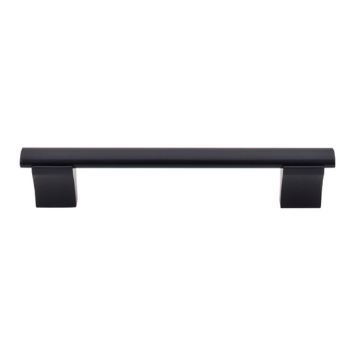 Top Knobs Hardware Modern Cabinet Pull in Flat Black Finish M1095