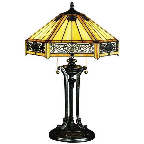 Quoizel Lighting Tiffany Table Lamp TF6669VB