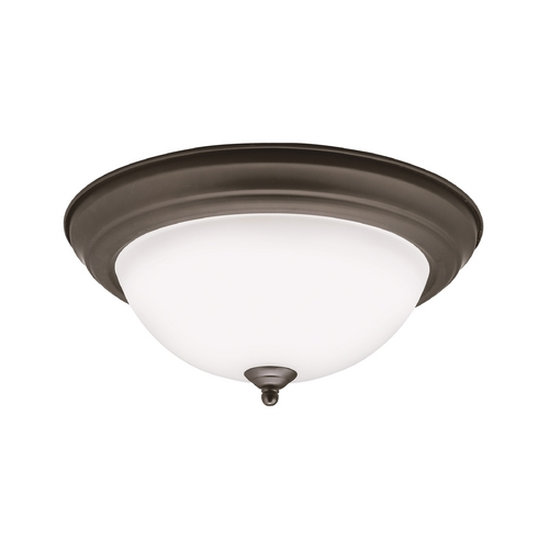 Kichler Lighting Kichler Lighting Olde Bronze LED Flushmount Light 8112OZLED