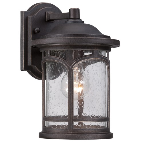 Quoizel Lighting Quoizel Marblehead Palladian Bronze Outdoor Wall Light MBH8407PNFL