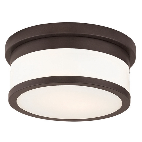 Livex Lighting Livex Lighting Stafford Bronze Flushmount Light 65501-07