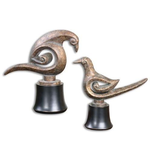 Uttermost Lighting Uttermost Aram Bird Sculptures Set of 2 19876