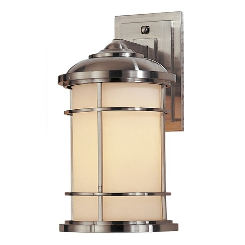 Feiss Lighting Feiss Lighting Lighthouse Brushed Steel LED Outdoor Wall Light OL2201BS-LED