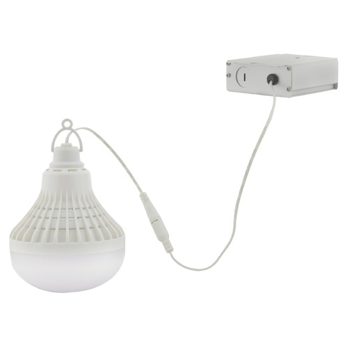 Satco Lighting Satco Temporary Work Light 10W/12W/24W 3000K 680L/850L/1400L 12 Volts Dimmable 86/216