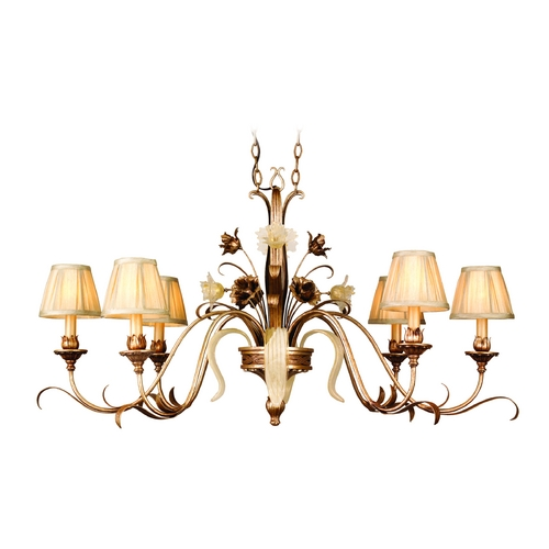 Corbett Lighting Corbett Lighting Tivoli Silver Island Light with Conical Shade 49-53