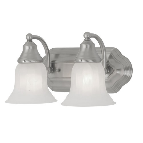 Design Classics Lighting Two-Light Bathroom Vanity Light 568-09