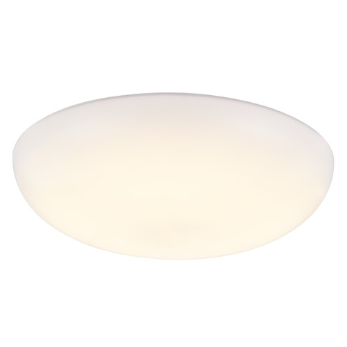Recesso Lighting by Dolan Designs Modern 8-Inch Low Profile Flushmount LED Light 2700K 809LM MOD08-16W-27 / PLATE