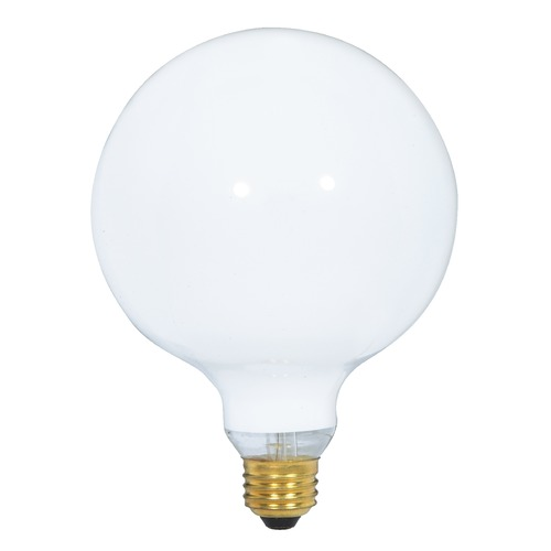 Satco Lighting Incandescent G40 Light Bulb Medium Base Dimmable S3002
