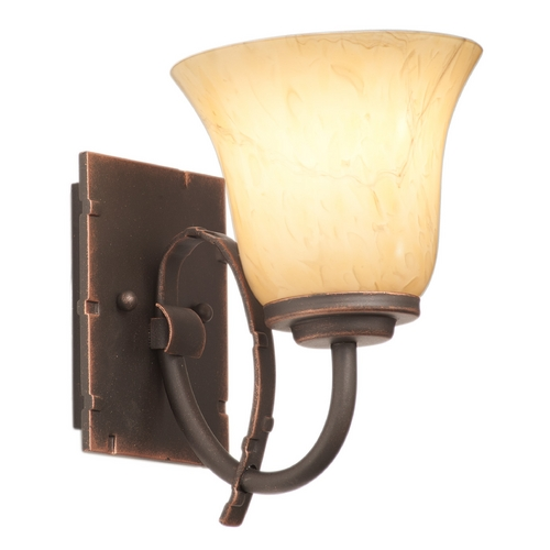 Kalco Lighting Kalco Lighting Penrith Antique Copper Sconce 2921AC/1239