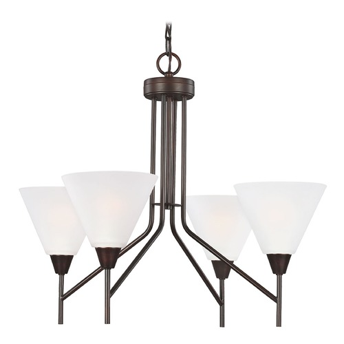 Sea Gull Lighting Sea Gull Lighting Ashburne Burnt Sienna Chandelier 3111204-710