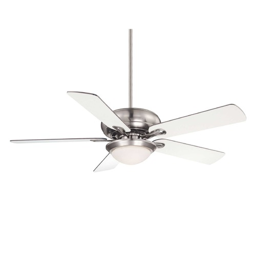 Savoy House Savoy House Satin Nickel Ceiling Fan with Light 52-CDC-5RV-SN