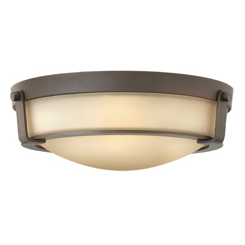 Hinkley Lighting Hinkley Lighting Hathaway Olde Bronze Flushmount Light 3225OB-GU24