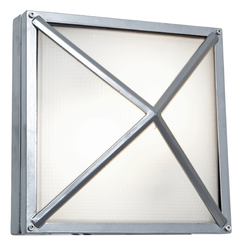 Access Lighting Access Lighting Oden Satin Nickel LED Outdoor Wall Light 20330LED-SAT/FST